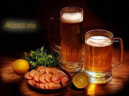 Пиво с лимоном