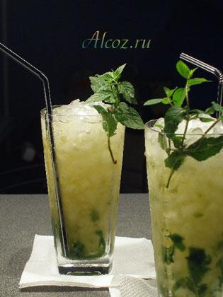 Рецепт коктейля «Мятный»