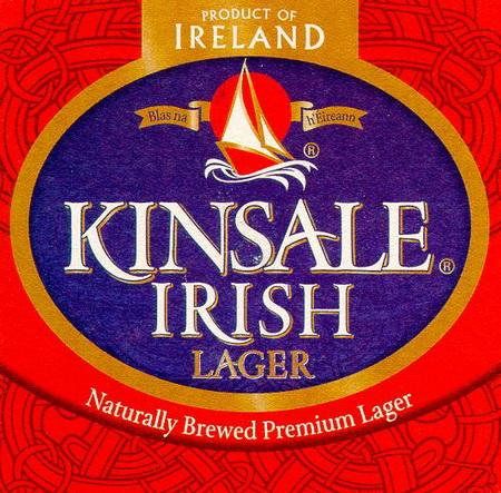 Пиво Guinness, Kinsale Irish Lager