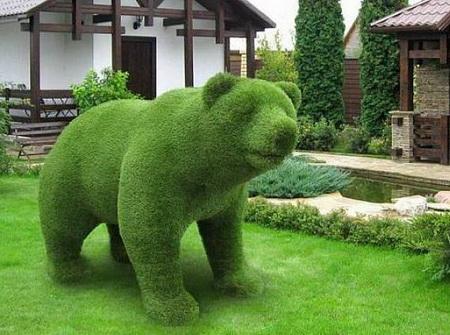 Зеленые фигуры